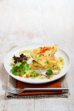 03039 Tortilla de calabacín y patata