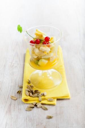 03063 Macedonia de frutas en almibar