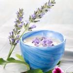 Crema al aroma de lavanda