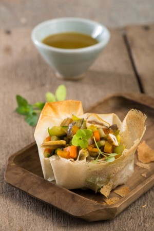 03306 Verduras en pasta brik