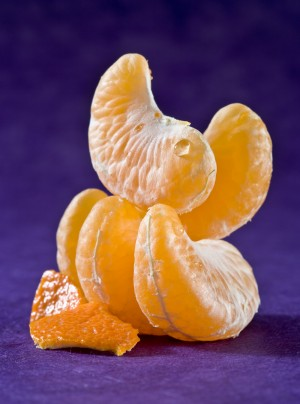 Gajos de mandarina