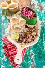 3430 Carne desilachada en  taco