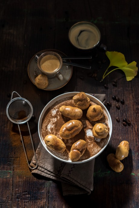 Coffee Profiteroles