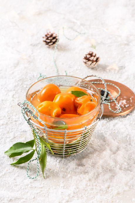 candied mandarins