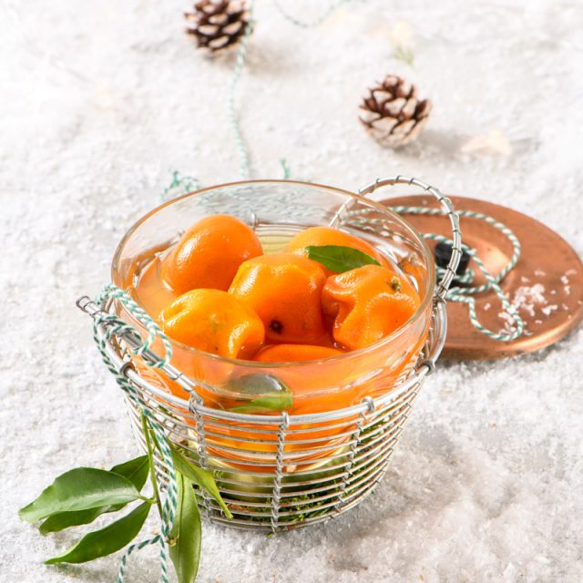 candied mandarins