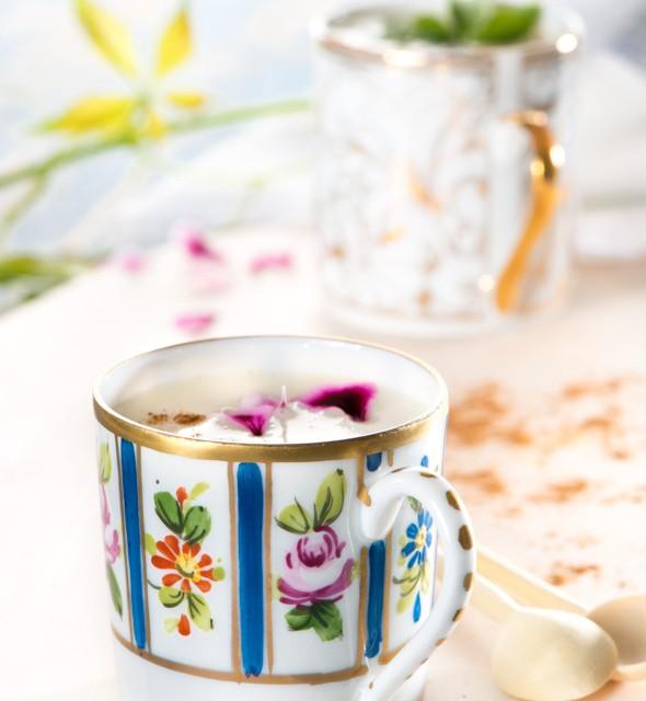 natillas en taza