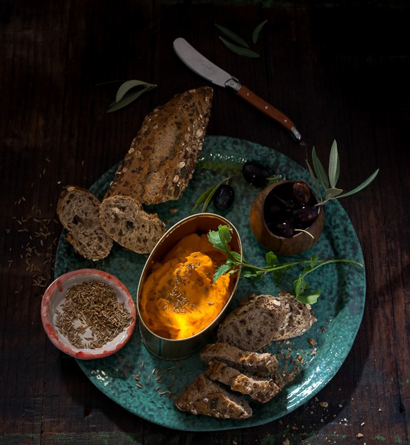 Pate of carrots